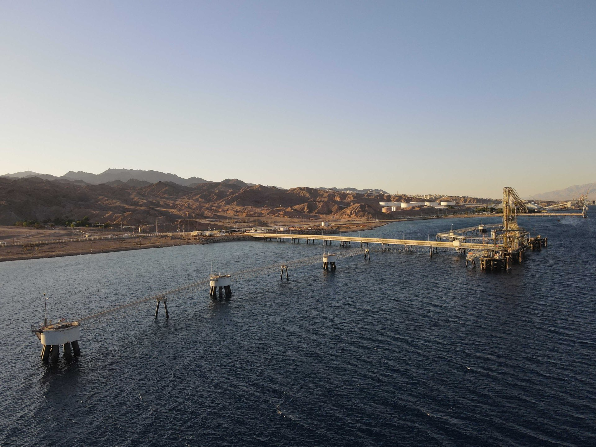 נמל קצ״א במפרץ אילת